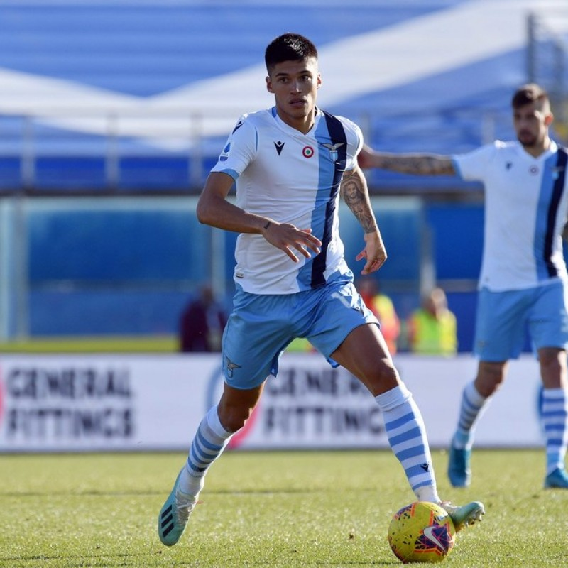Correa's Worn and Unwashed Shirt, Brescia-Lazio 2020