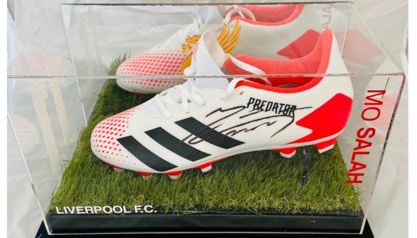 Mohamed Salah Hand Signed Football Boots