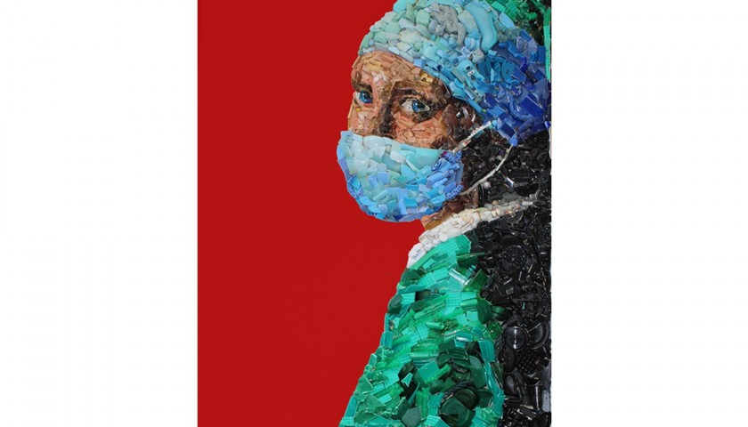 """""""Nurse with a Pearl Earring"""" by Lady Be"""