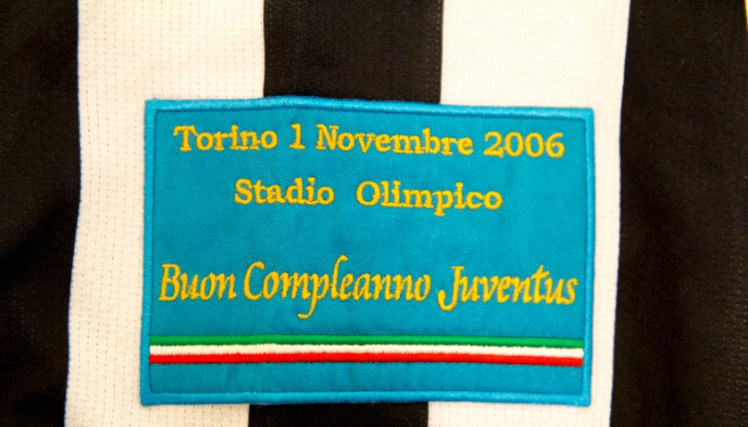 bcfcfe5d41c Boniperti s Commemorative Jersey for the Juventus Birthday