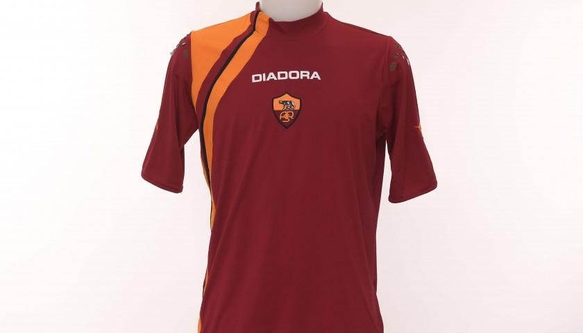 Francesco Totti's AS Roma Signed Shirt, 2005/2006