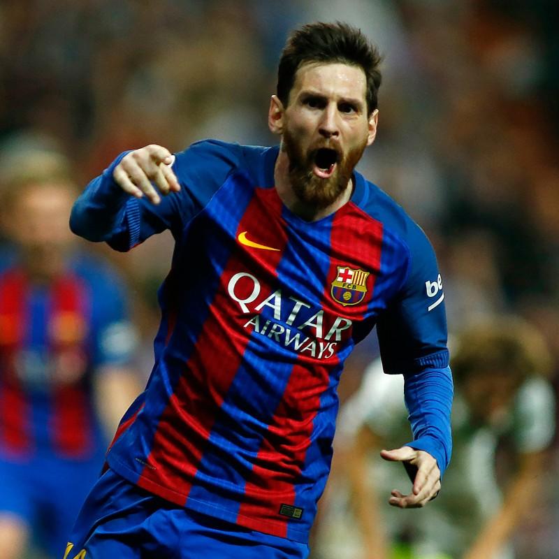 Maglia Ufficiale Messi Barcellona, 2016/17 - Autografata
