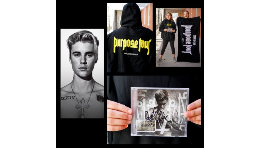 Find Your #Purpose with a Special VIP Merchandise Package from Justin Bieber