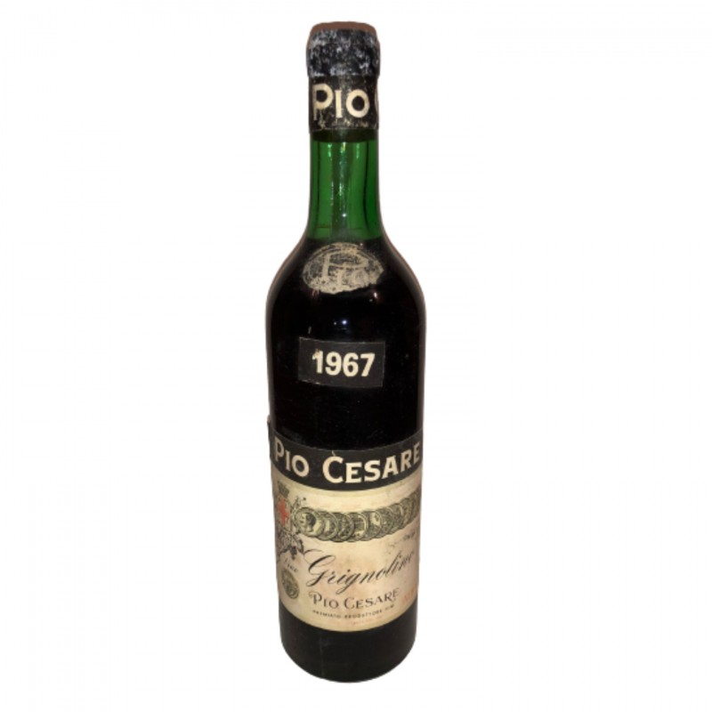 Bottle of Grignolino, 1967 - Pio Cesare