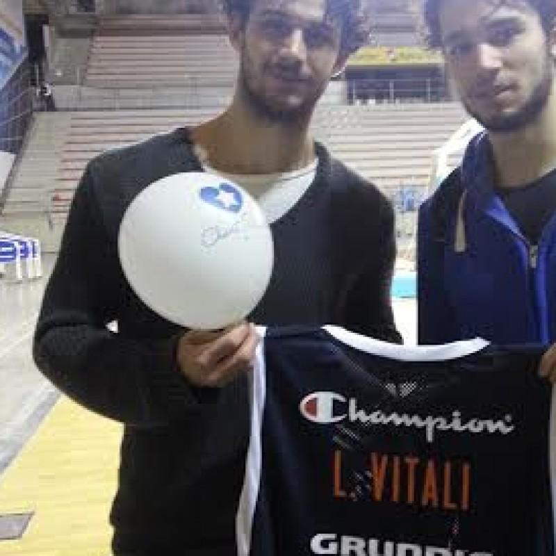 Luca Vitali worn signed shirt - All Star Game BEKO 2014