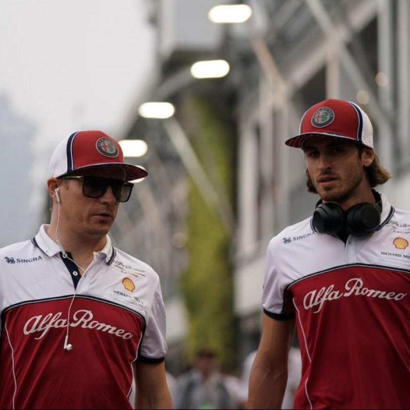 Alfa Romeo Racing Team Official Polo Shirt