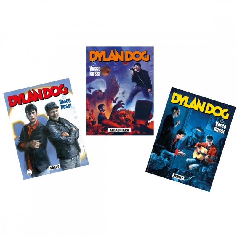 Three Dylan Dog Comics Dedicated to Vasco Rossi