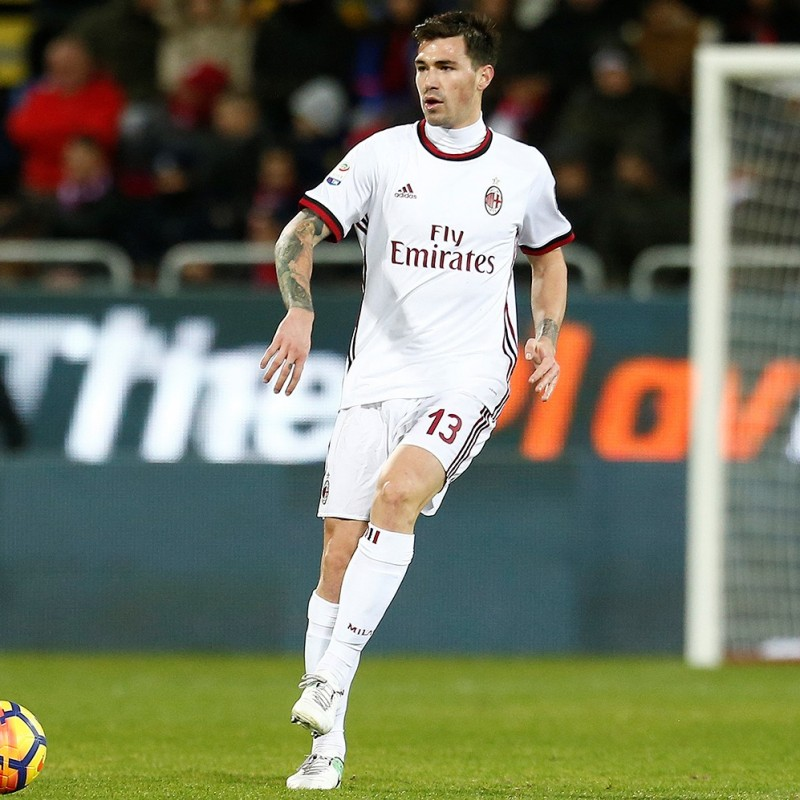 Romagnoli's Milan Match Shorts, Serie A 2017/18