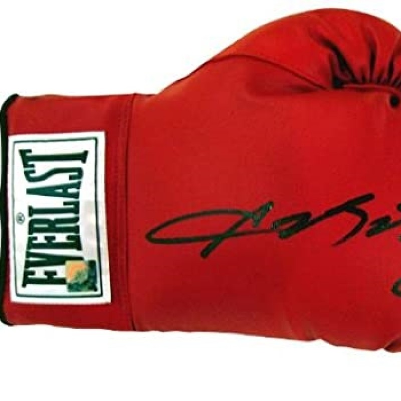 Sugar Ray Leonard Hand Signed Boxing Glove