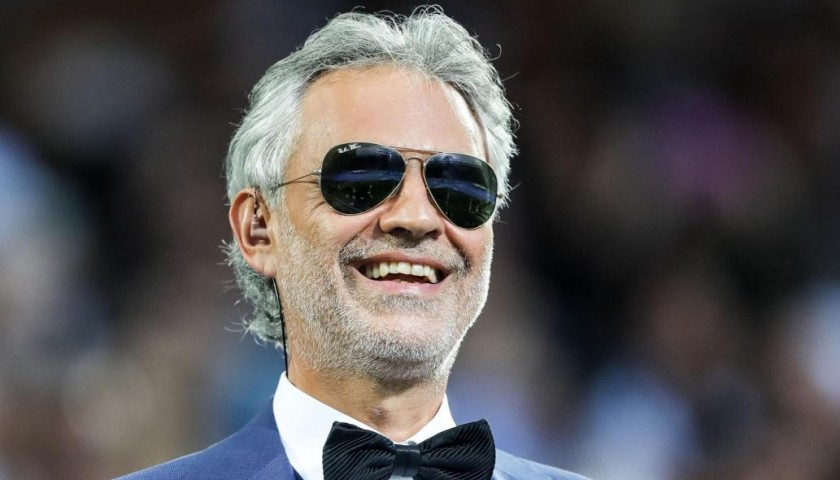Two top seats to attend the Andrea Bocelli concert, Miami 02/12/17