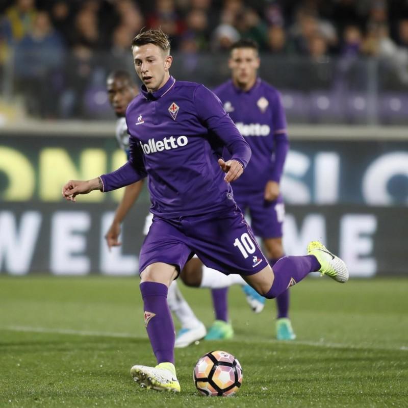 Bernardeschi's 2016/17 Match-Issued Fiorentina Shirt, Signed