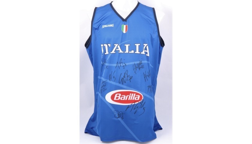 ItalBasket Official Vest, 2019 - Signed by the Team
