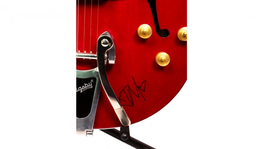 Signed Good Charlotte Gretch Guitar