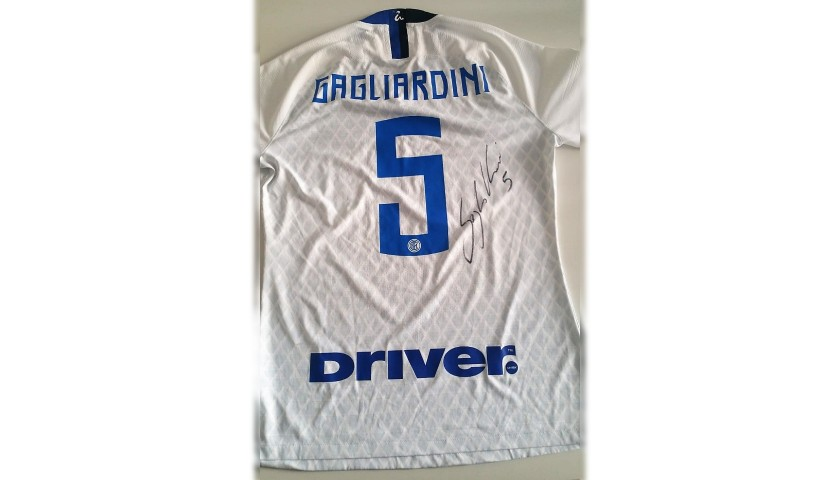 Gagliardini's Inter Match-Issue Signed Shirt, 2018/19
