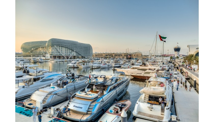 Elite Abu Dhabi F1 Package for 2, Including 4 Night Stay