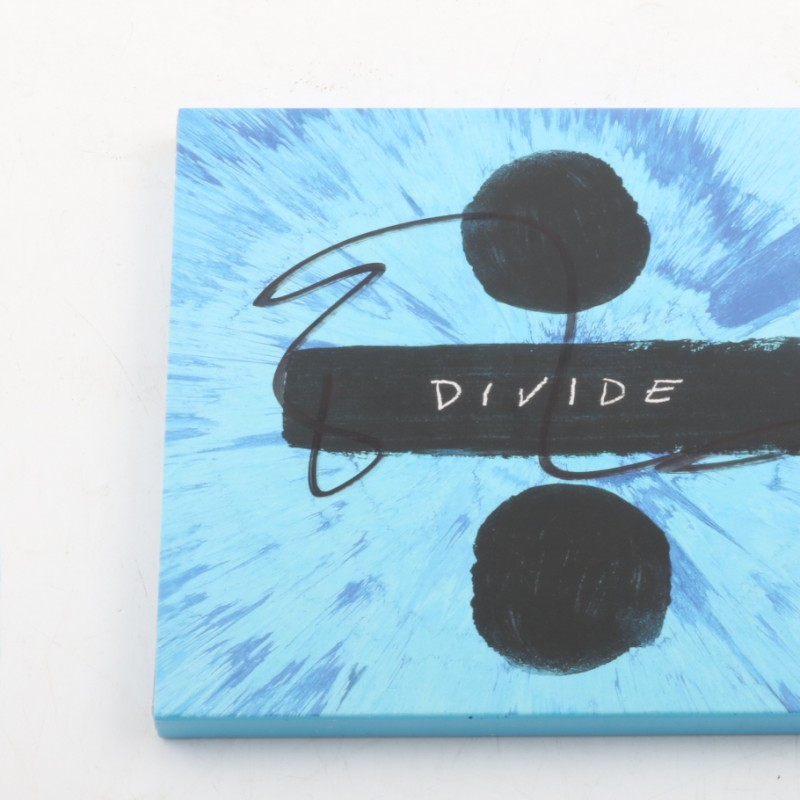"Album ""Divide"" signed by Ed Sheeran"