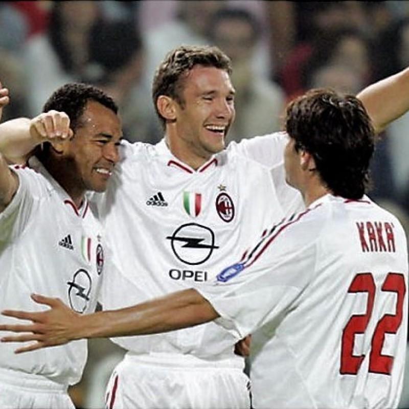 Kaka's Milan Match-Issue/Worn Serie A 2004/05 Shirt