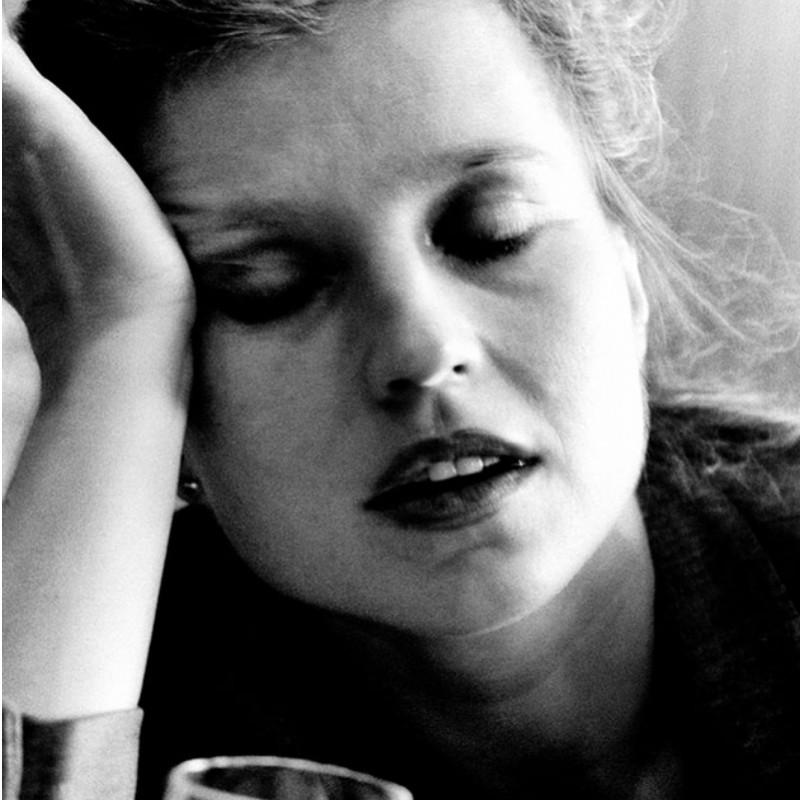 """""""Anna Schygulla"""" - Photograph by Flavia Farassino"""