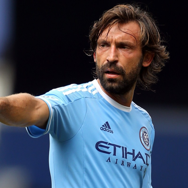 Pirlo's Official New York City Signed Shirt, 2015/16