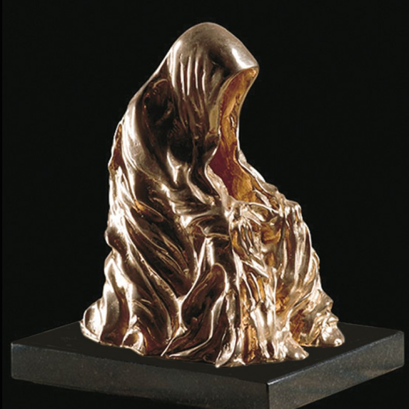 """Sculpture """"Cloak of Conscience"""" (Manteau de la Conscience) by Anna Chromy"""