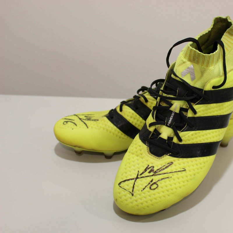 James Ward Prowse's Signed and Worn Football Boots from Southampton FC 16/17