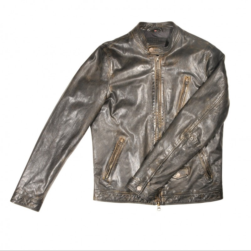 Minoronzoni Biker Leather Jacket