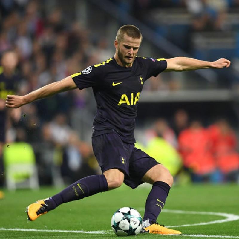Dier's Match-Worn Juventus-Tottenham Shirt, UCL 2018