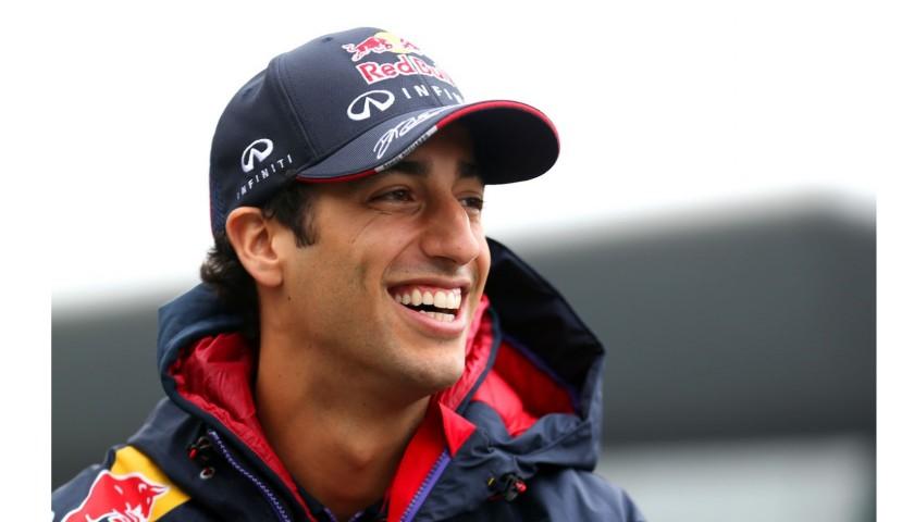 Red Bull Team-Issued Cap Signed by Daniel Ricciardo