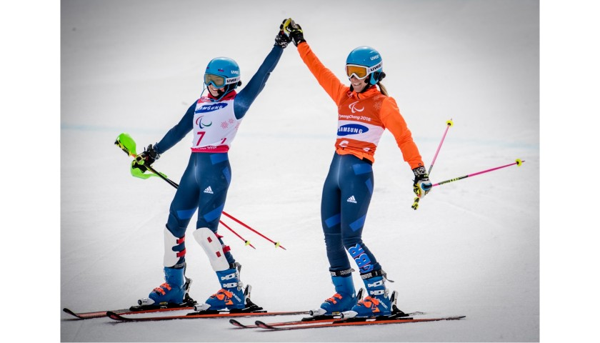 Ski Lesson with Paralympic Gold Medalists
