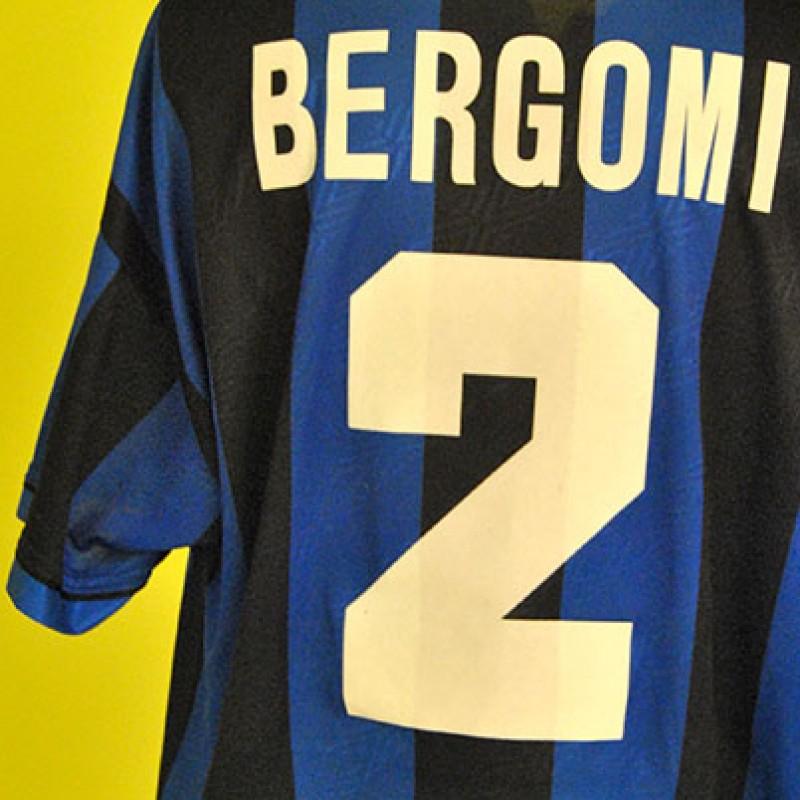 Inter worn shirt by Giuseppe Bergomi, Serie A 1995/1996