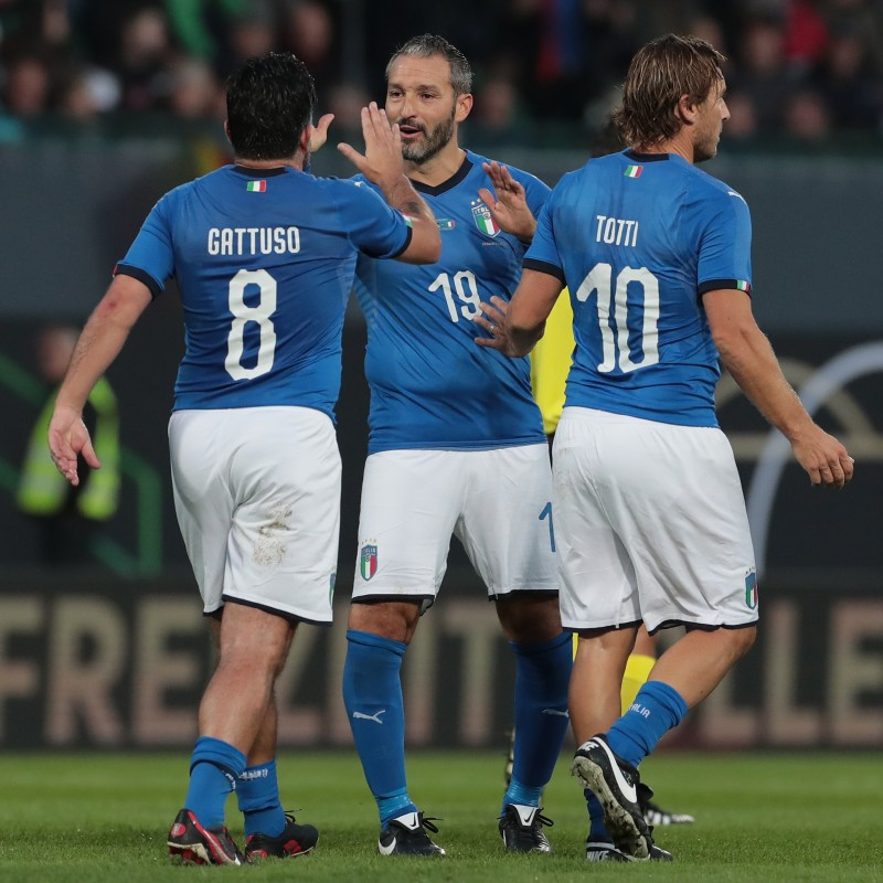 Zambrotta's Match Shirt, Germany-Italy 2019