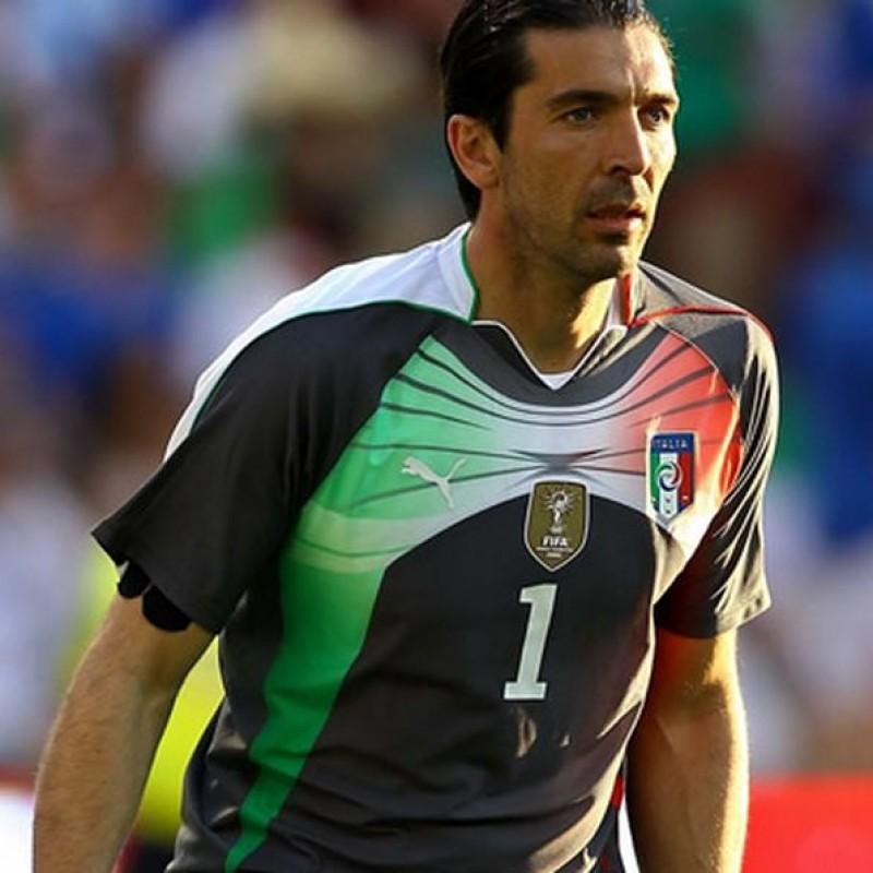 Buffon's Italy Match Shirt, 2010