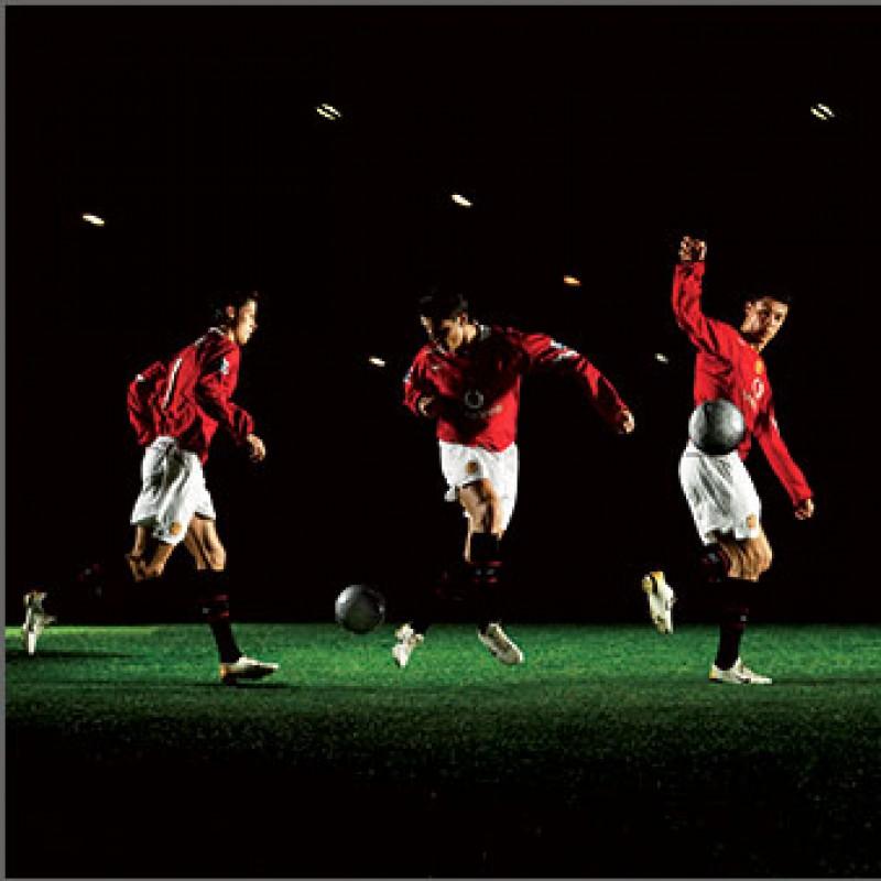 Ronaldo Signed 'Dancing' Art Print