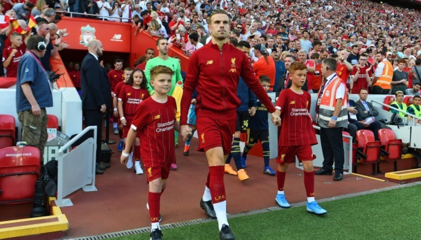 Mascot Package for Liverpool FC vs Watford