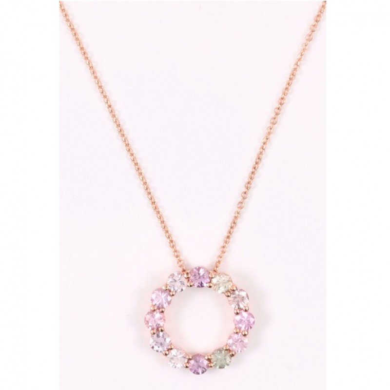 Exclusive Gold and Sapphire Bucherer Necklace