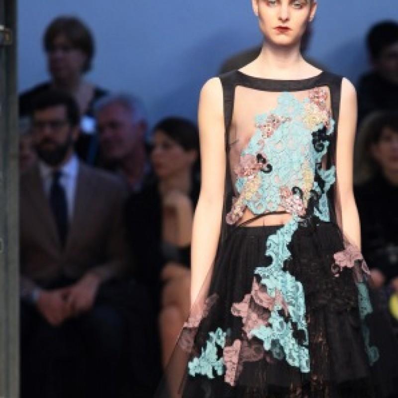 Attend the Antonio Marras Womenswear Fashion Show during Milan F/W