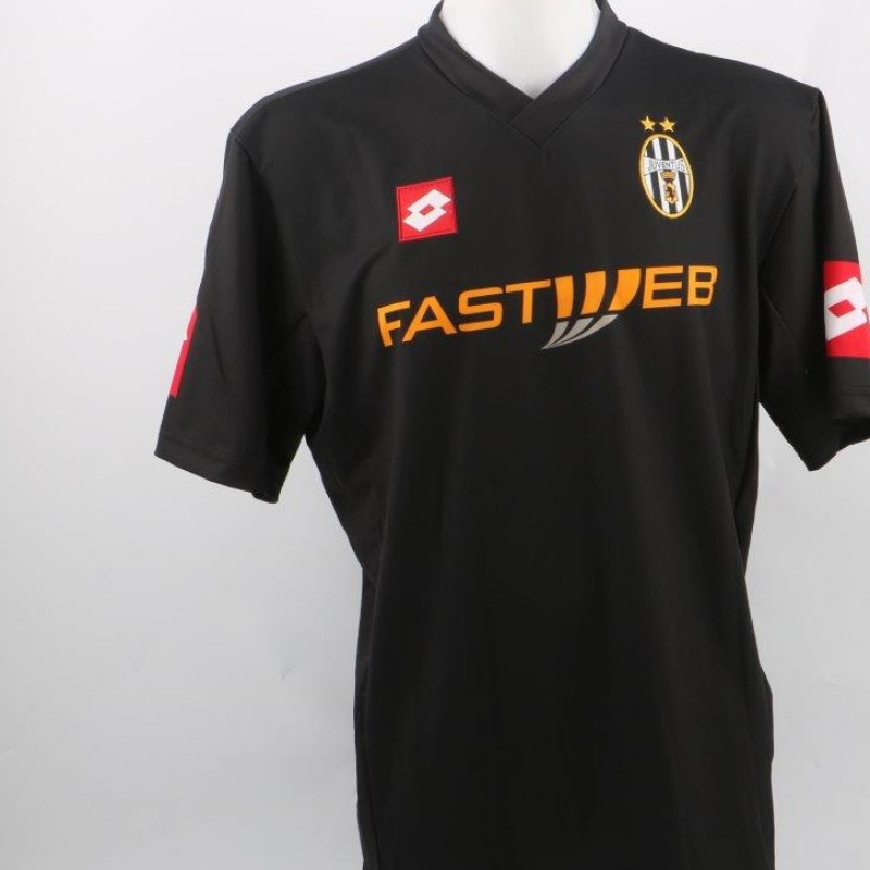 O'Neill Juventus away shirt, issued/worn Serie A 01/02