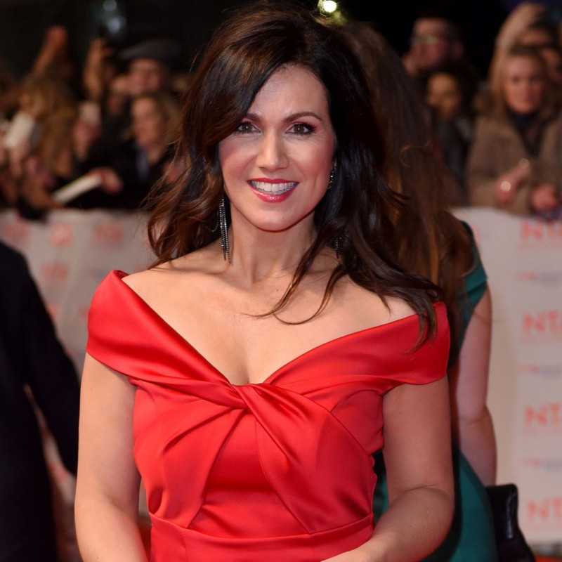 Susanna Reid's Red Goddiva Evening Dress