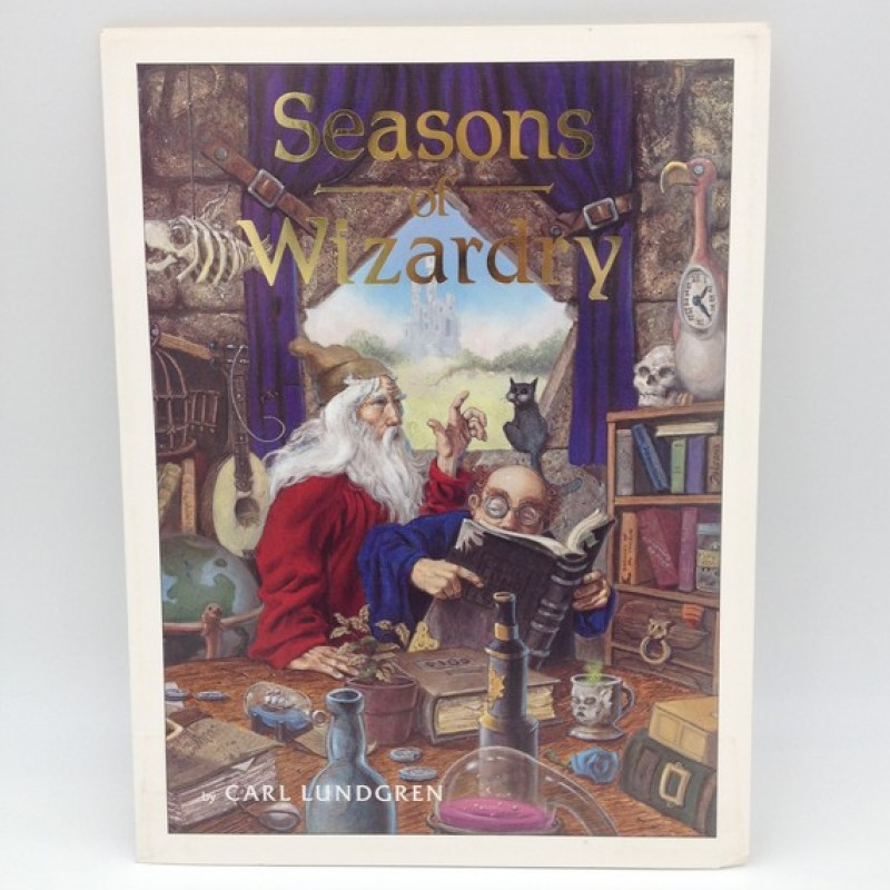 """""""Seasons of Wizardry"""" by Carl Lundgren, 1984 - Signed Limited Edition"""