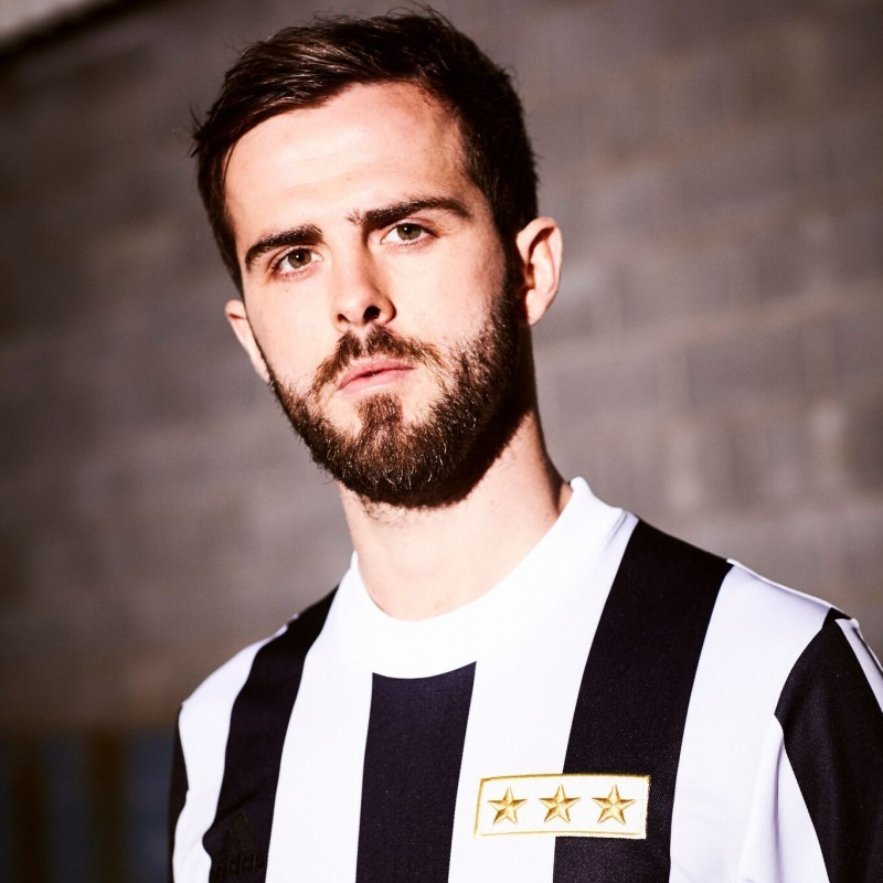Pjanic's Match-Issue Shirt with 120th Anniversary Patch