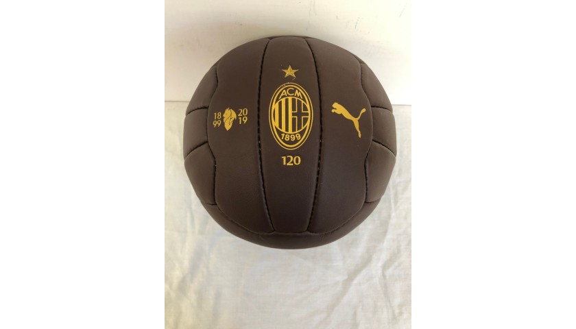 Official Milan 120 Years Football - Signed by Ibrahimovic