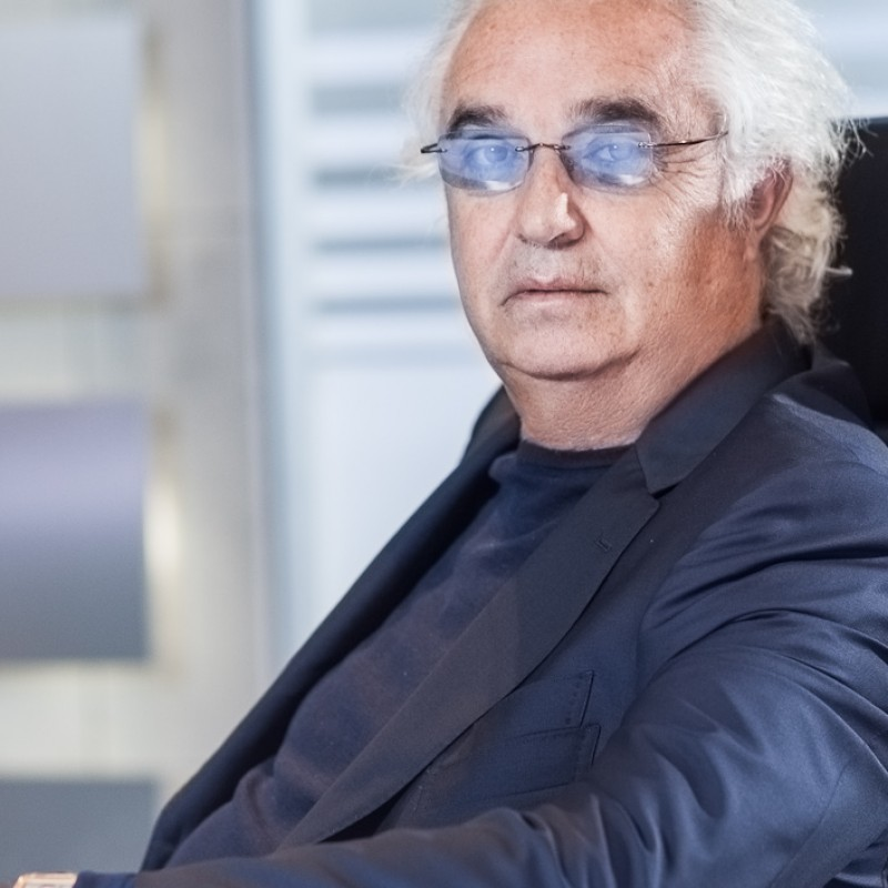 Lunch with the Successful Italian Businessman Flavio Briatore