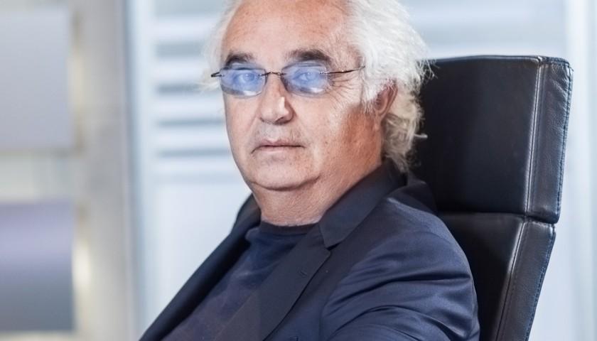Lunch with the Successful Italian Businessman Flavio Briatore