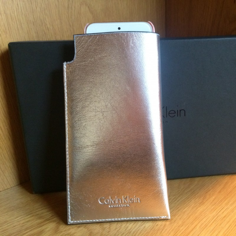 Calvin Klein Collection Phone Sleeve