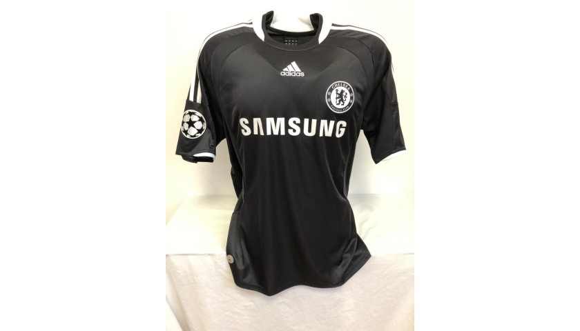 Drogba's Official Chelsea Signed Shirt, 2008/09