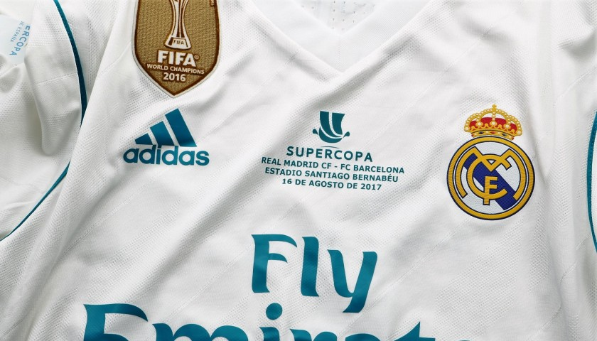 7405cfc2125 Isco s Match-Issued Real Madrid Shirt