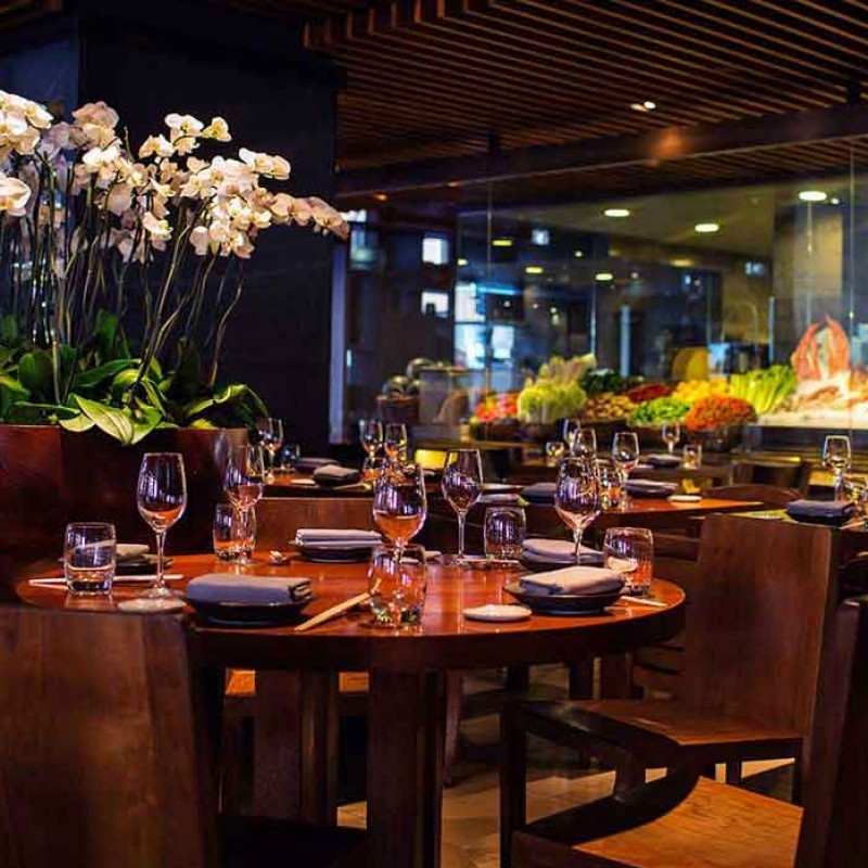 Cooking Class at the Novikov Restaurant in London