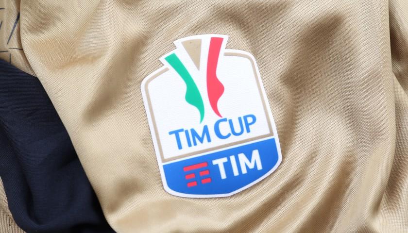 Donnarumma's Match-Issue/Worn Shirt,Tim Cup Final 2016