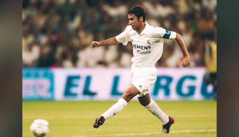 Maglia Ufficiale Raúl Real Madrid, 2002/03 - Autografata