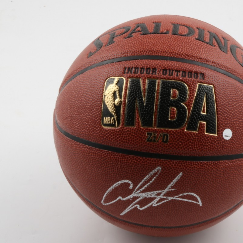 Official NBA Basketball Signed by Carmelo Anthony